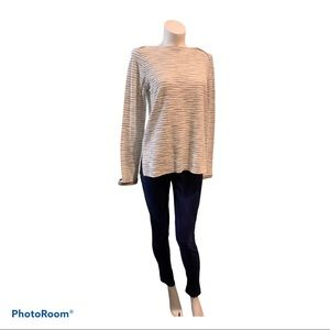 Light Boxy sweater Lord and Taylor opened sides